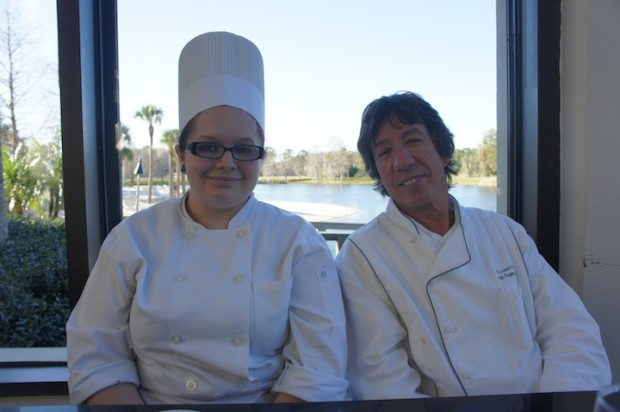 Sous Chef Shelby and Executive Chef Kenneth at Cascade American Bistro