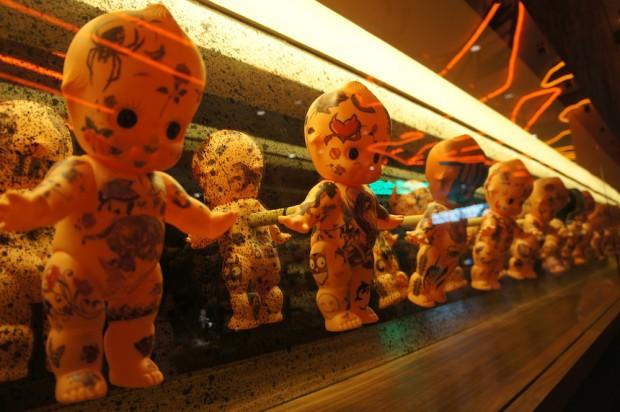 Luchador baby dolls...slightly creepy but funny