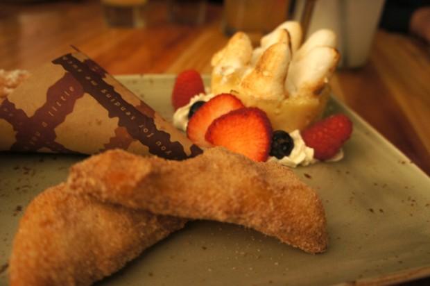 Desserts at Antojitos