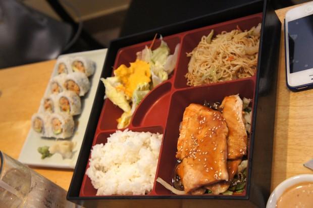 Chicken Katsu bento box