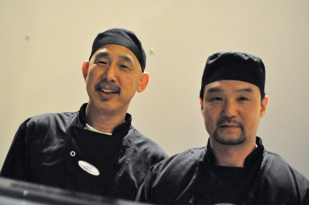 Seek out Chef Yoshi and his sushi chef partner soon at Cascade American Bistro, Hyatt Regency Grand Cypress