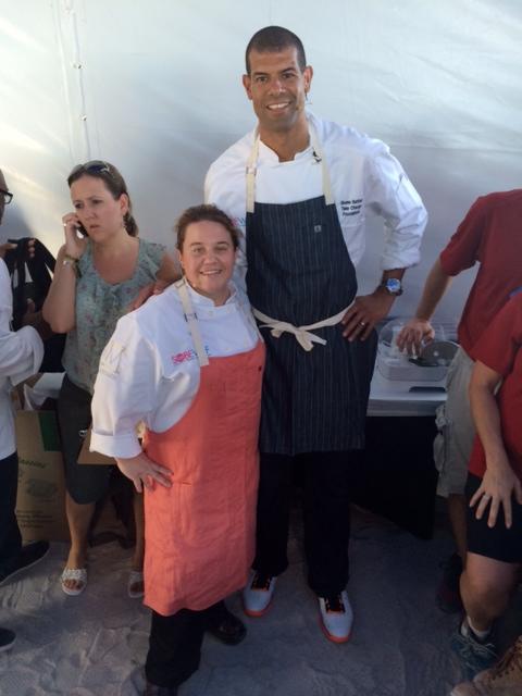 Dena Marino Kitchen Heat Shane Battierz