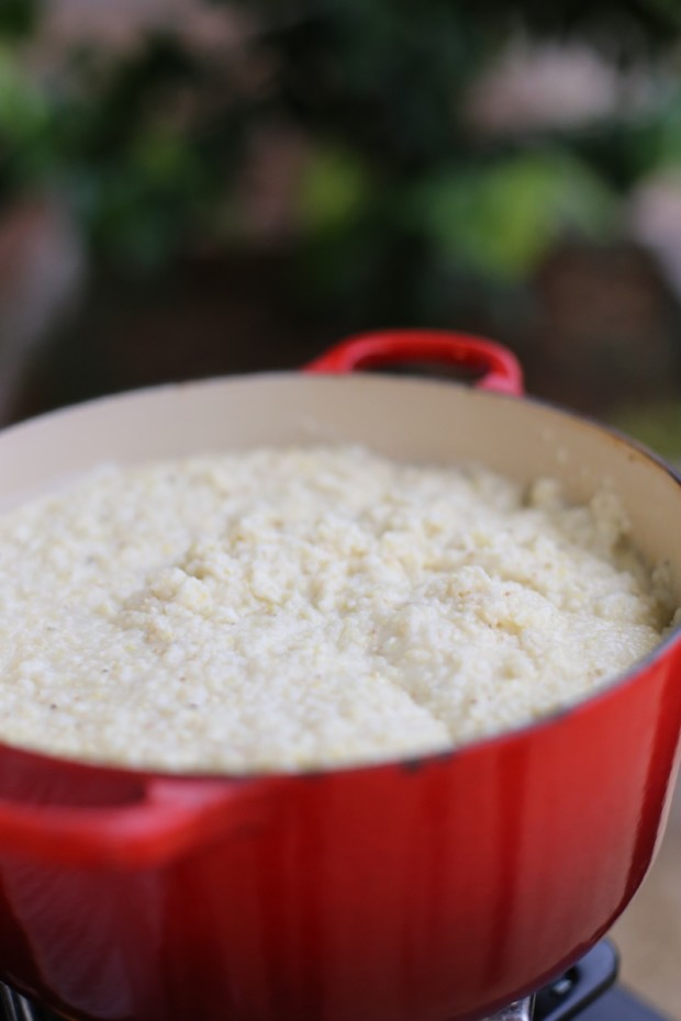 Loved these cheesy grits