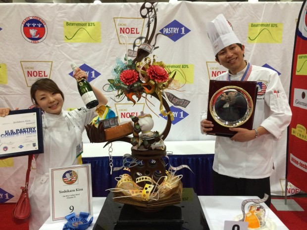 The Ritz Carlton's Pastry Chef Kizu is awarded Pastry Chef of the Year
