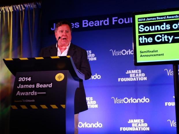 Chef Norman Van Aken  - James Beard Award winner and Who's Who recipient