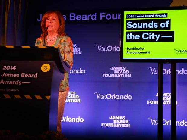 Susan Ungaro, president of James Beard Foundation
