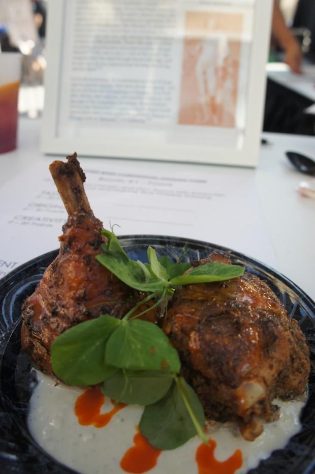 Chicken ossobucco