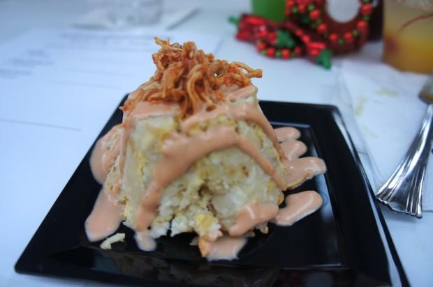 Mofongo dish