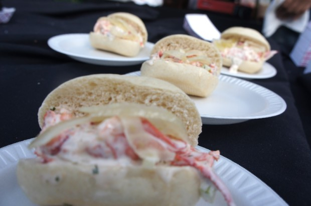 Lobster rolls from K Restaurant