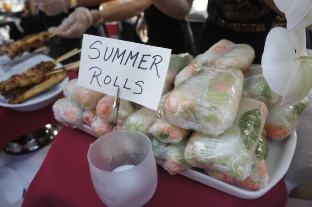 Orchid Thai Cuisine - Summer Rolls