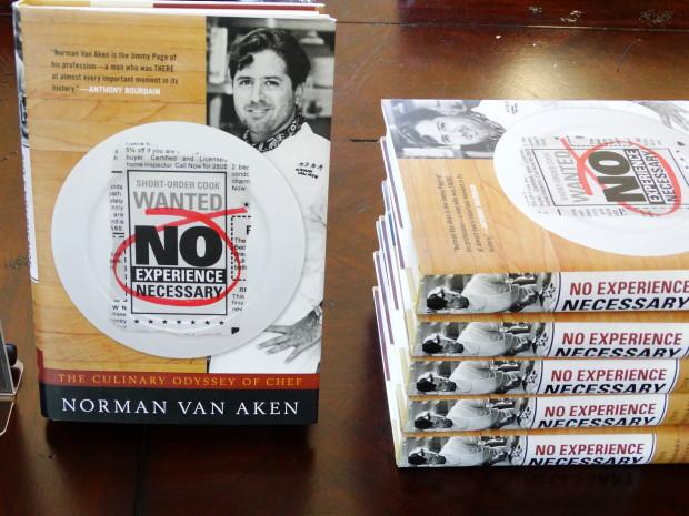 Norman Van Aken's book No Experience Necessary