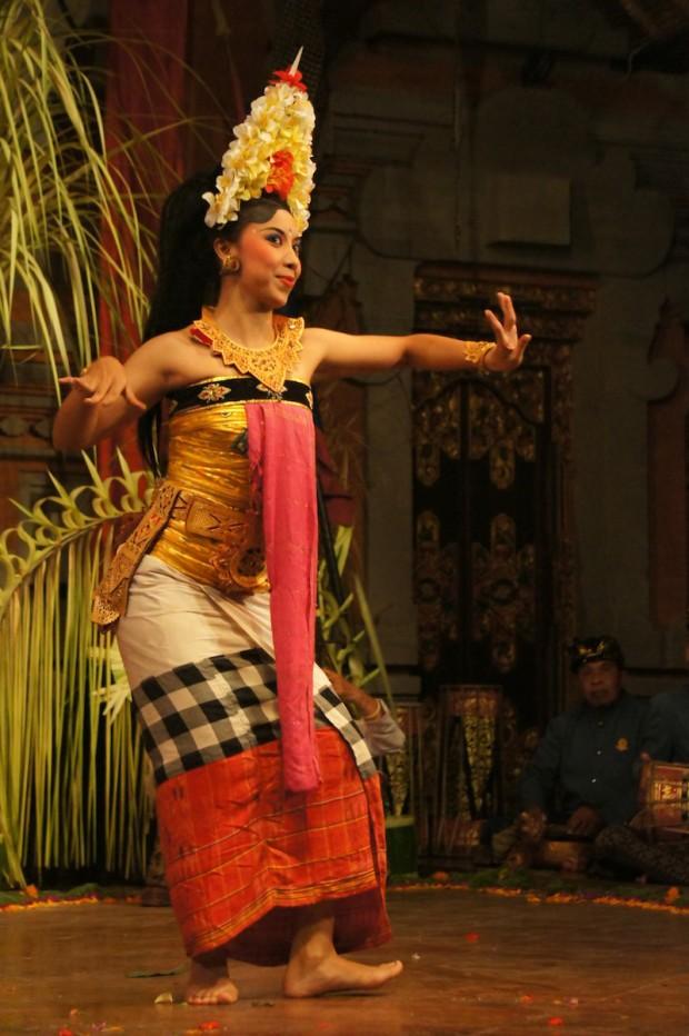 Balinese Legong Dancer