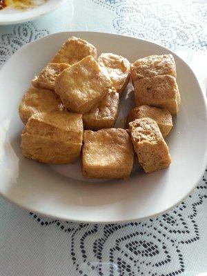Stinky Tofu at Magic Wok - Image Courtesy of Kay Y. on Yelp