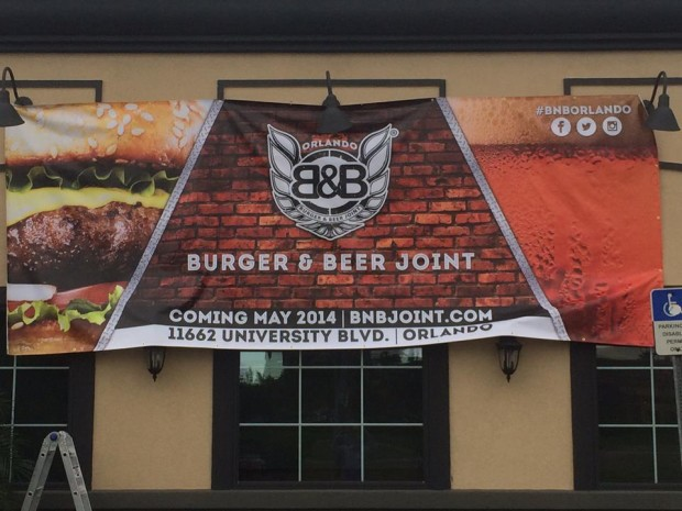 Burger and Beer Joint set to open May 2014
