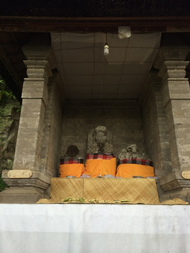 Temple Goa Gajah  - Ganesha statue