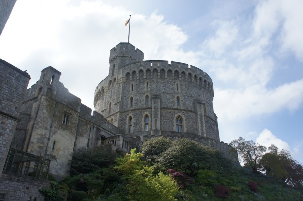 A look at the keep at Windsor Castle