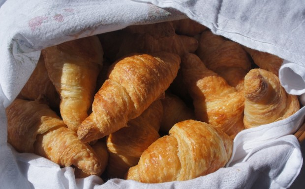 Delicious Croissants from Olde Hearth bakery
