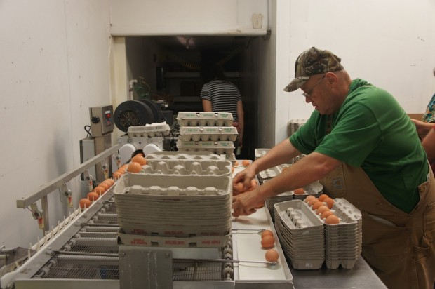 Dale Bob Volkert, owner of Lake Meadow Naturals