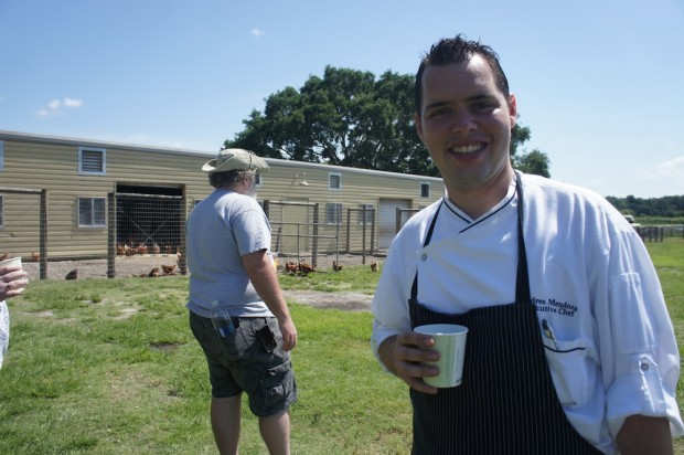 Chef Andres Mendoza of Norman's at Ritz Carlton Orlando