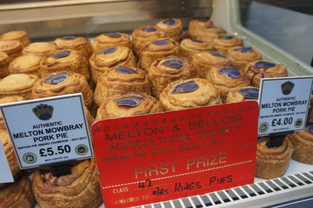 Meat Pies, a staple in London