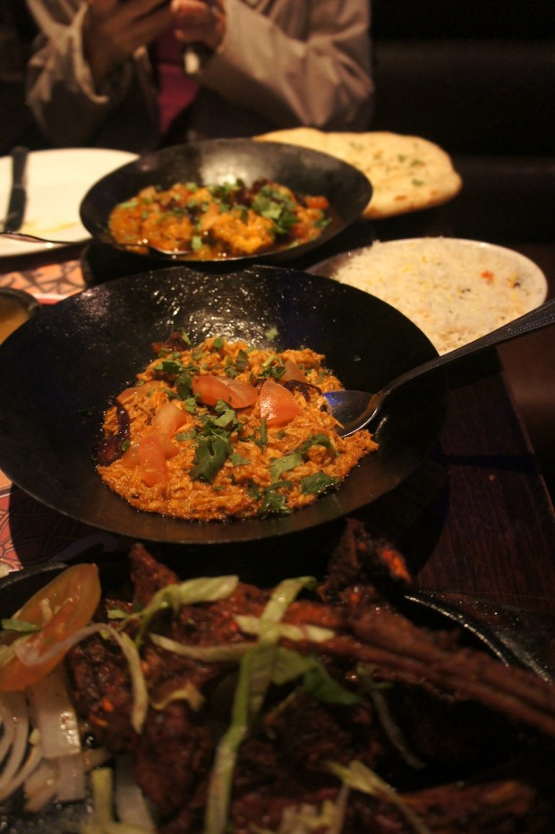 Chicken Karahi and Karahi Chicken Tikka Masala