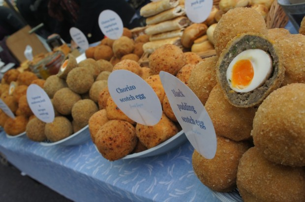 Scotch eggs - chorizo to all types of meats