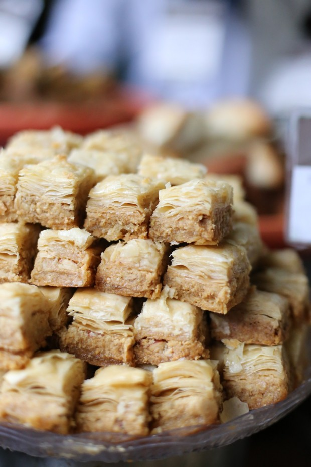 Lovely baklavas