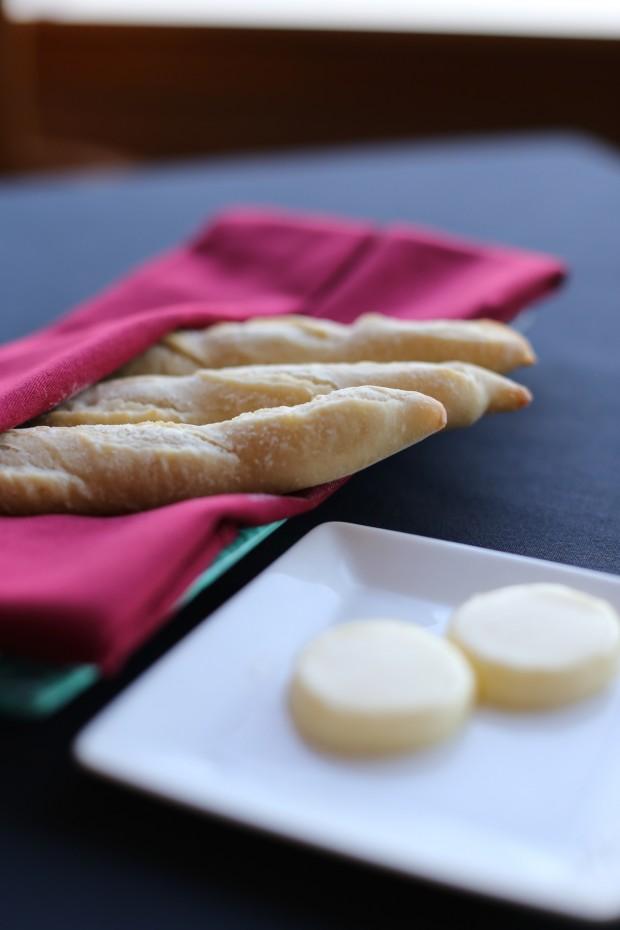 House baked bread at Hemisphere