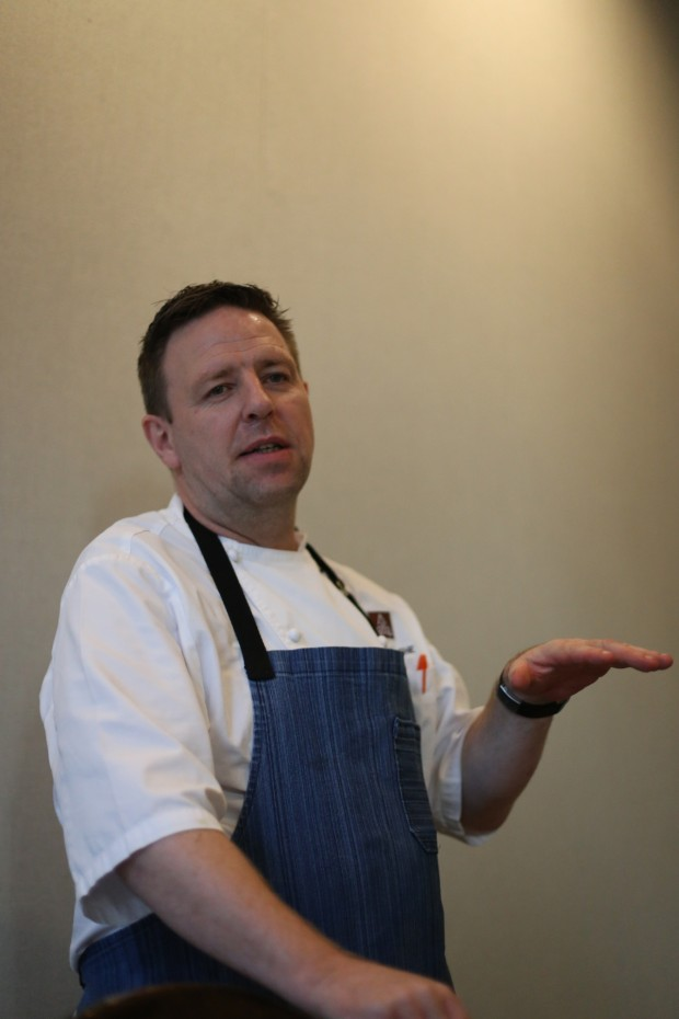 Hamilton Kitchen's Executive Chef Marc Kusche
