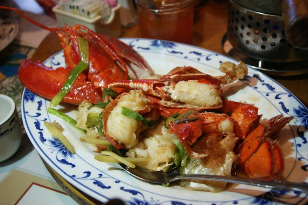 Stir Fried lobster