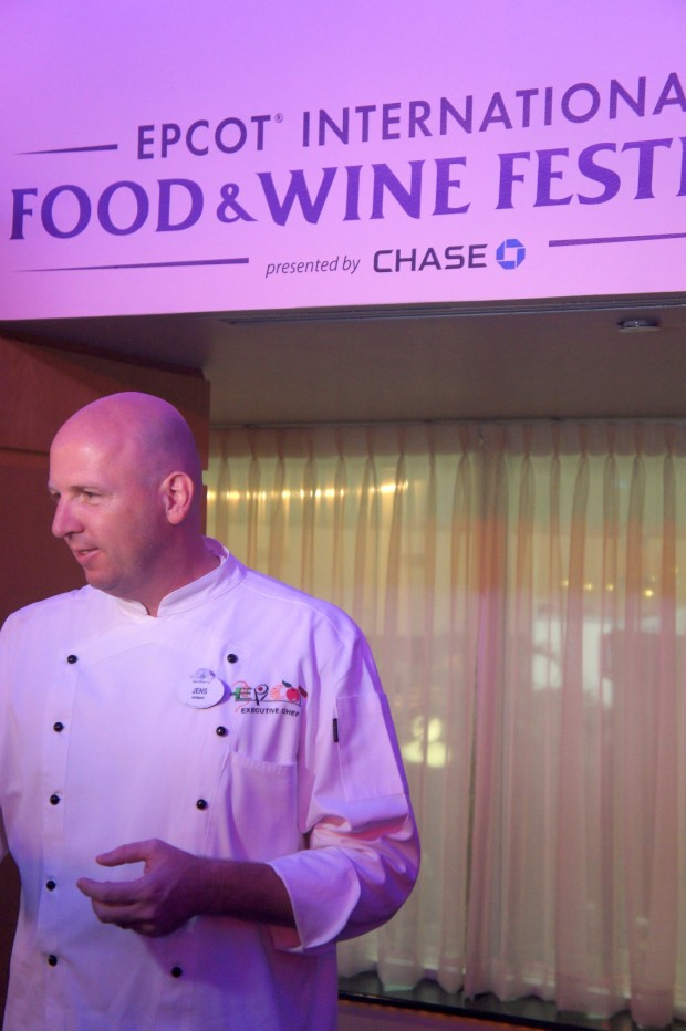Jens Dahlmann, former Epcot executive chef, is now the general manager for Epcot Food and Beverage operations - talks about the new dishes and favorites this year