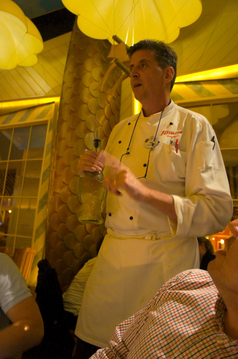 Chef Tim Keating of Flying Fish Cafe