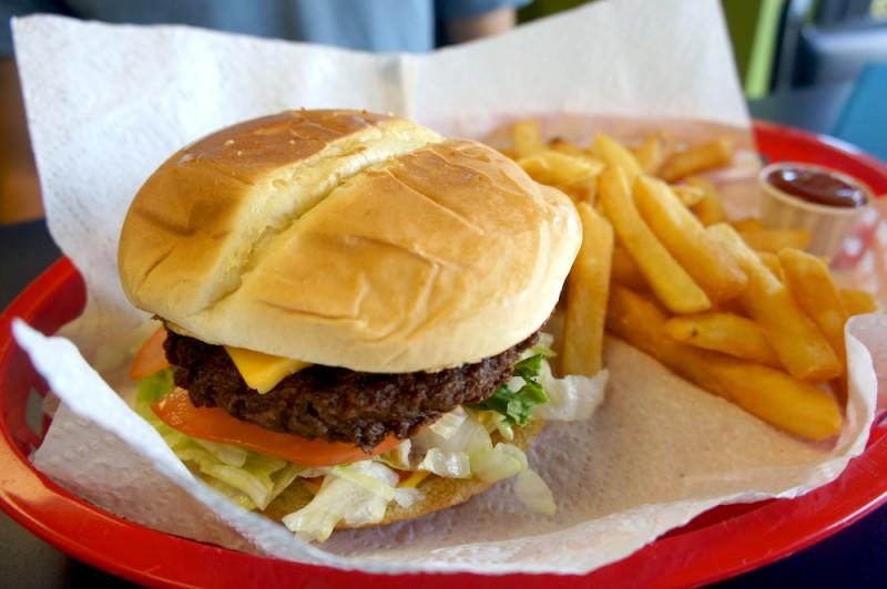 Burger, a favorite of Mr. Ali Kurnaz, son of Mr. Kurnaz