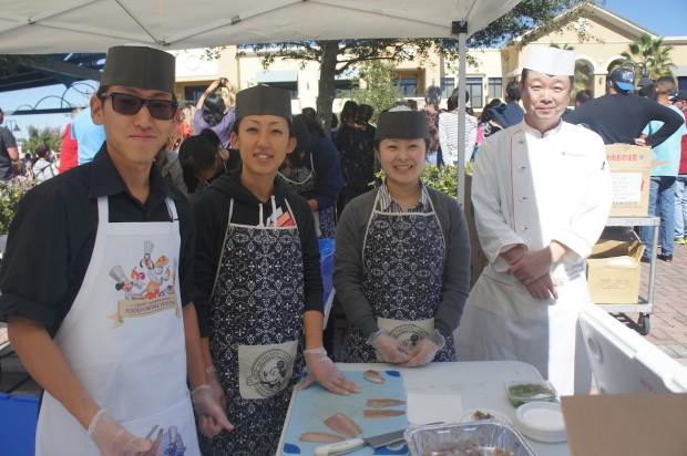 Mitsukoshi team of Epcot's Japan Pavilion