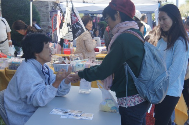 Palm reading at the Orlando Japan Festival