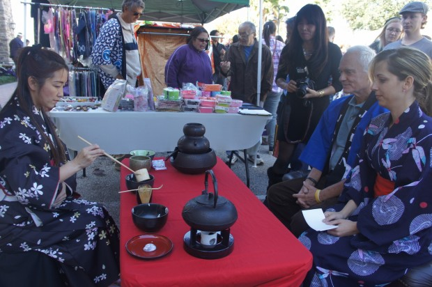 Green Tea Ceremony with Mr. Harris Rosen
