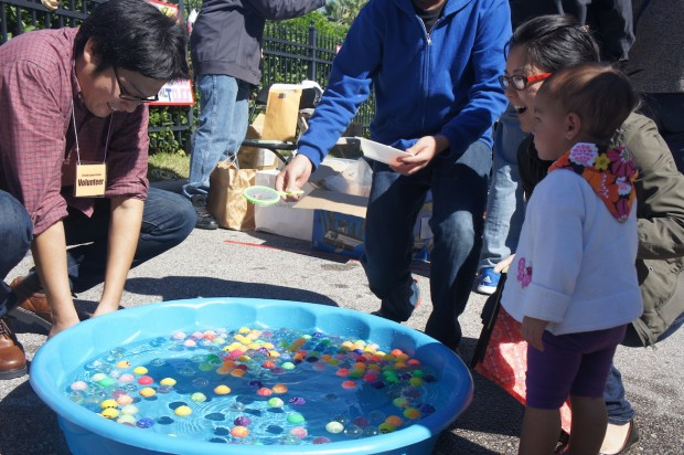 Kid's games at the festival