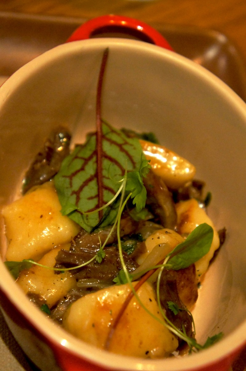 Potato Gnocchi  - Duck confit, brown butter, and sage - 10.oo