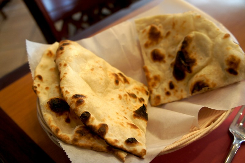 Lovely fluffy naan