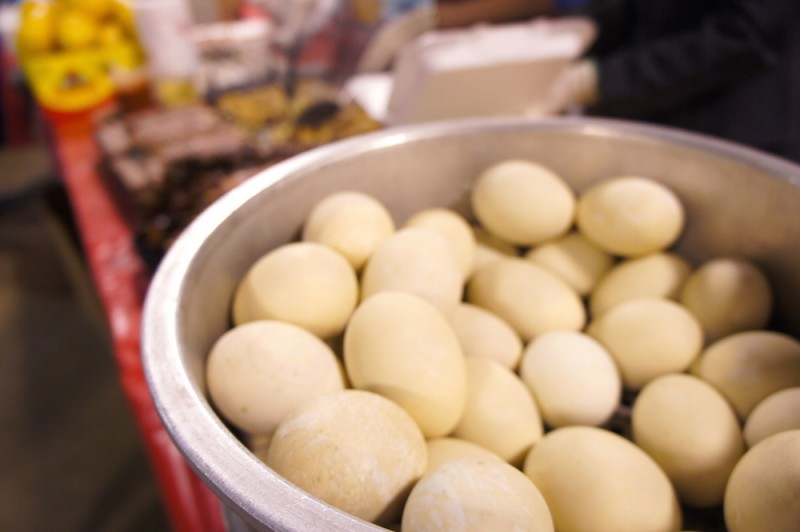 Hot Vit Lon - the fearsome Duck fetus eggs