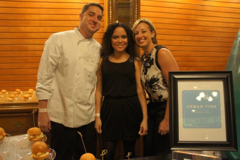 The team at the new Urban Tide restaurant at Hyatt Regency Orlando on International Drive