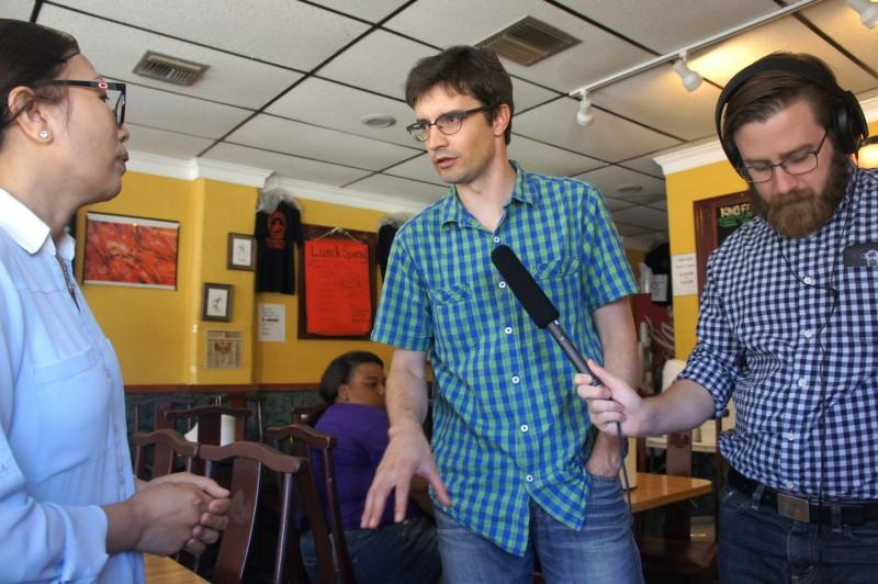 Mrs. Ha Nguyen interviewed by Matthew Peddie and Brendan Byrne of WMFE