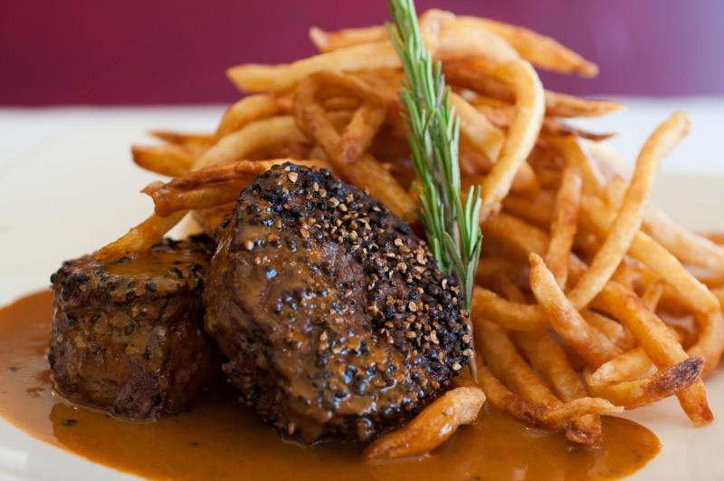Pistache Restaurant Signature Dish (SteakFrites)