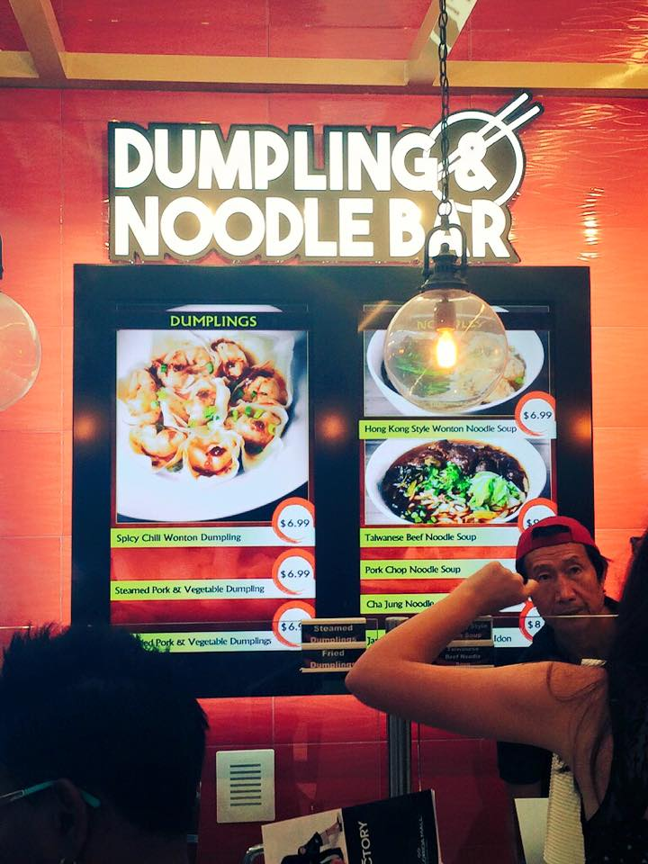 Noodles and Dumplings at the Florida Mall