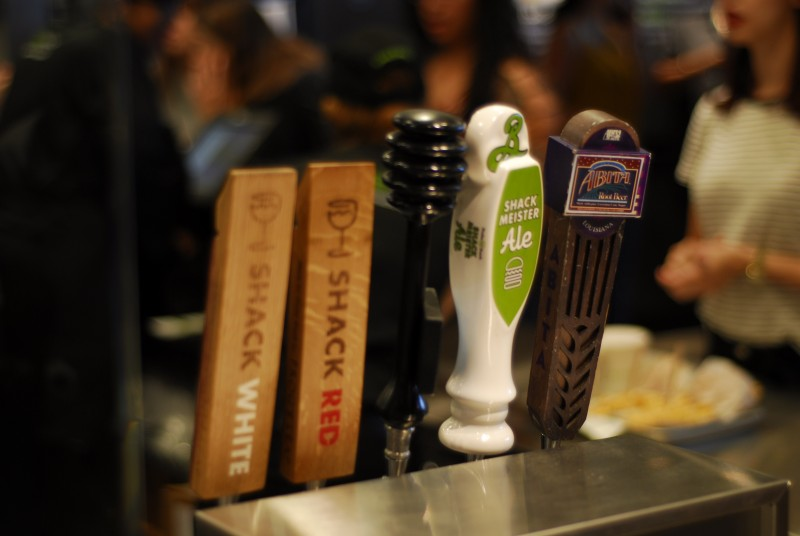 Selection of House Drafts and Wine