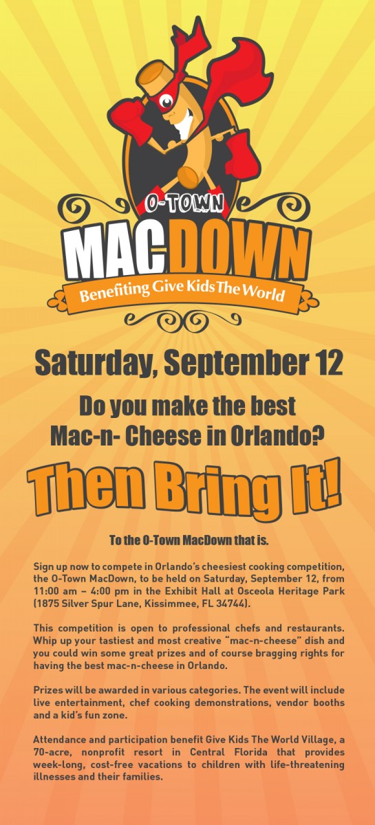 O-Town Competitor Flier
