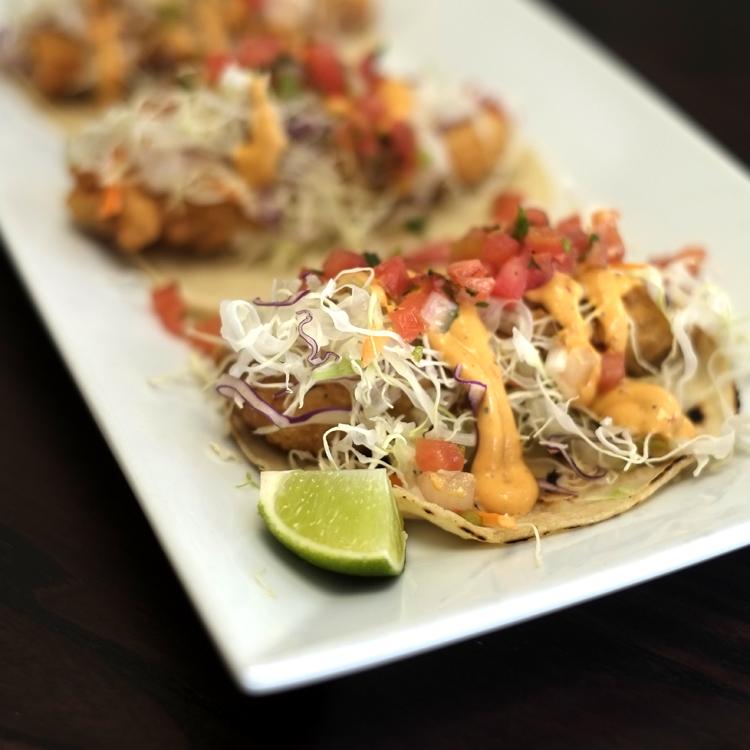 Snapper Frito Tacos