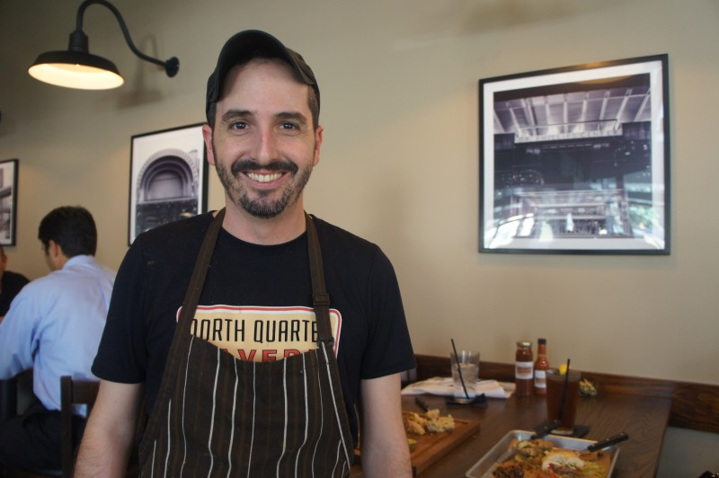 Chef Matthew Wall of North Quarter Tavern