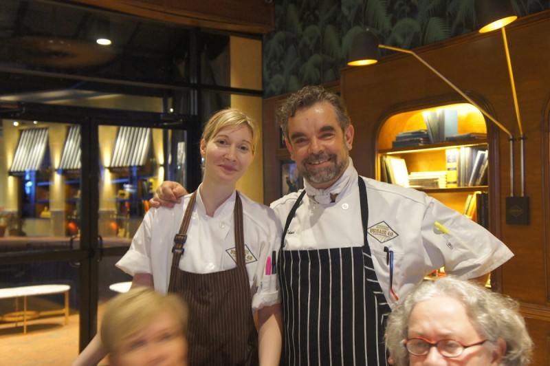 Pastry Chef Amanda McFall and Executive Chef Jean-Stephane Picard of Urbane 40