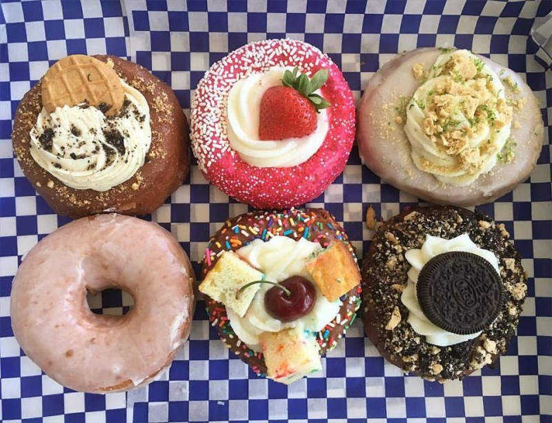 Assortment from DG Doughnuts